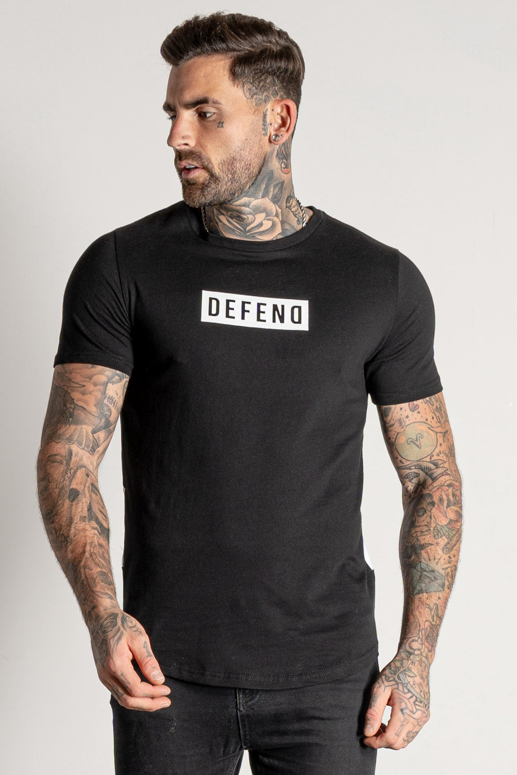 Men's Booth T-Shirt in Black