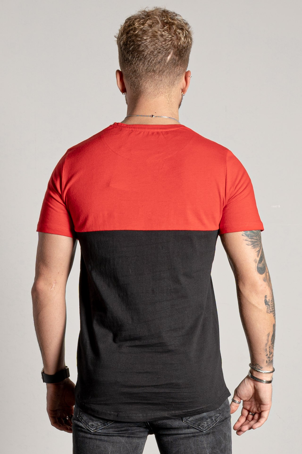 Men's Zonarta T-Shirt in Red