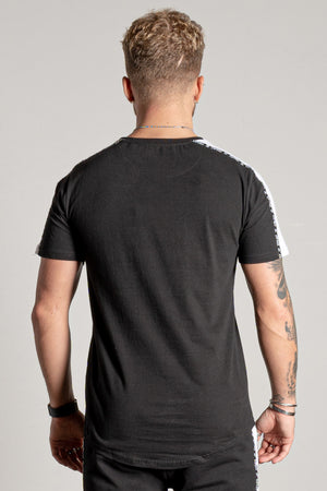 Men's Rover T-Shirt & Shorts Twin Set in Black