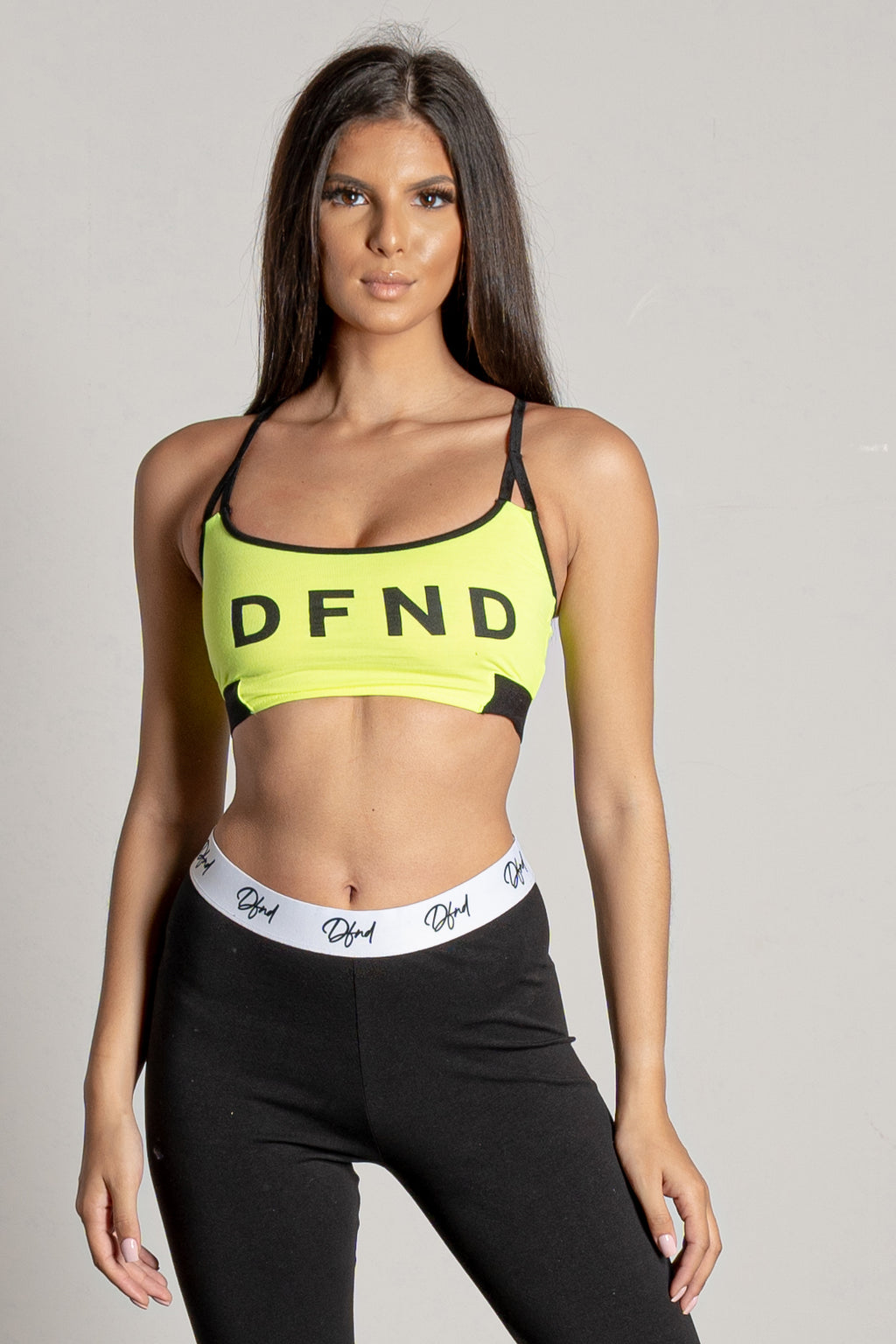 Women's Eva Bra Top in Green