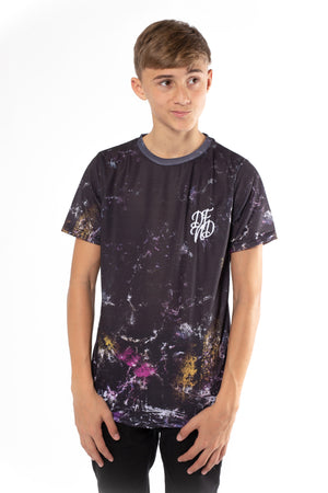 Boy's Delight T-Shirt in Black - DEFEND LONDON