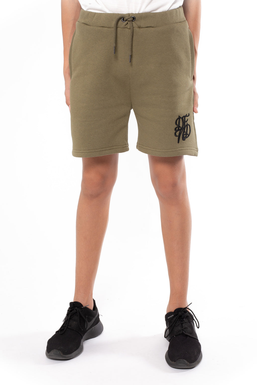 Boy's Rickston Shorts in Khaki - DEFEND LONDON