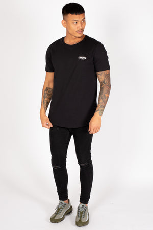 Men's Scorpion T-Shirt in Black - DEFEND LONDON