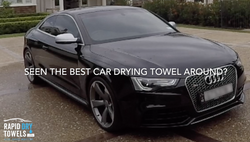 Dry an Audi RS5 in 3 minutes? We did...