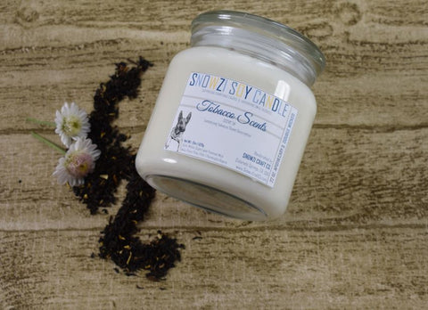 18oz. Apothecary - Scented Soy Candle - Tobacco Collection