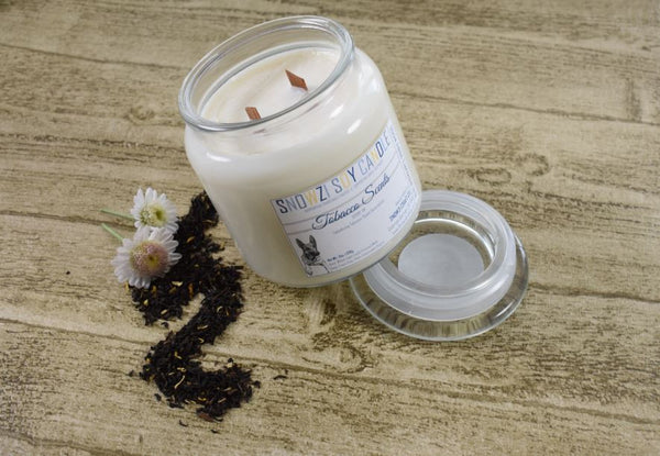 18oz Candle - Tobacco Scents