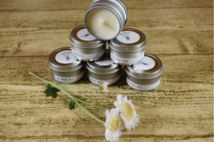 1oz. Travel Tin - Scented Soy Candle - Sampler Kit - Smell-A-Like Collection
