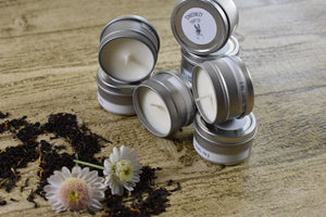 1oz. Travel Tin - Scented Soy Candle - Sampler Kit - Tobacco Collection