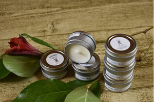 1oz. Travel Tin - Scented Soy Candle - Sampler Kit- Fall Collection
