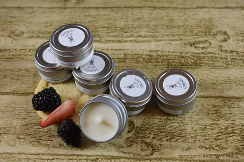 1oz. Travel Tin - Scented Soy Candle - Sampler Kit - Food & Beverage Collection