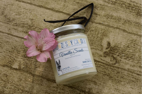 9oz. Scented Soy Candle - Vanilla Collection