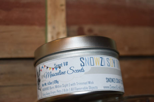6oz Candle - Robust Scents