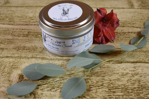 6oz. Travel Tin - Scented Soy Candle - Winter Collection