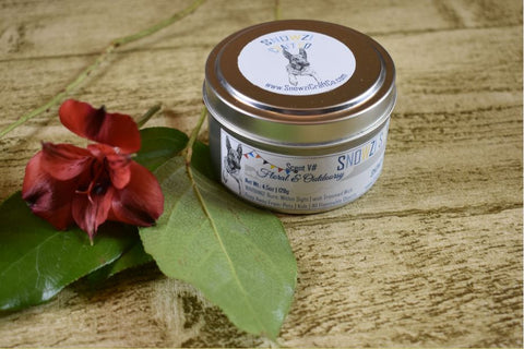 6oz. Travel Tin - Scented Soy Candle - Floral & Outdoorsy Collection
