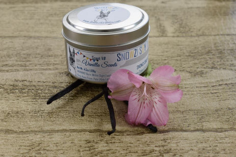 6oz. Travel Tin - Scented Soy Candle - Vanilla Collection
