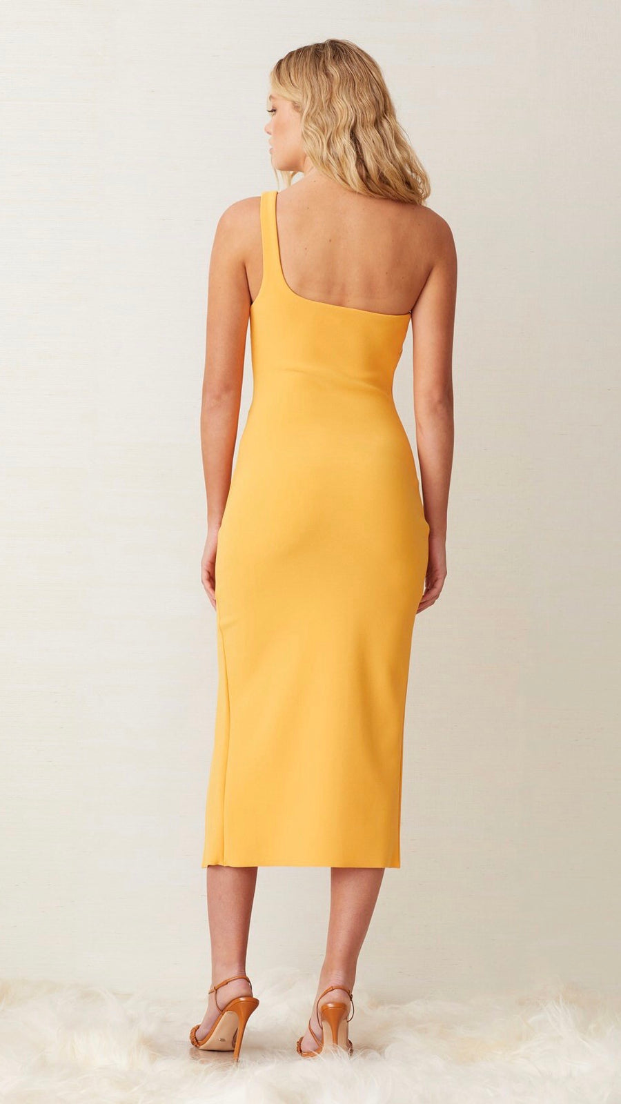 "Bec & Bridge Ariel Midi Dress in ""Mango"""