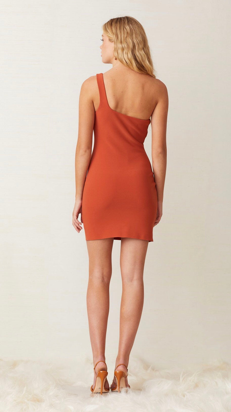 "Bec & Bridge Ruby Mini Dress in ""Rust"""