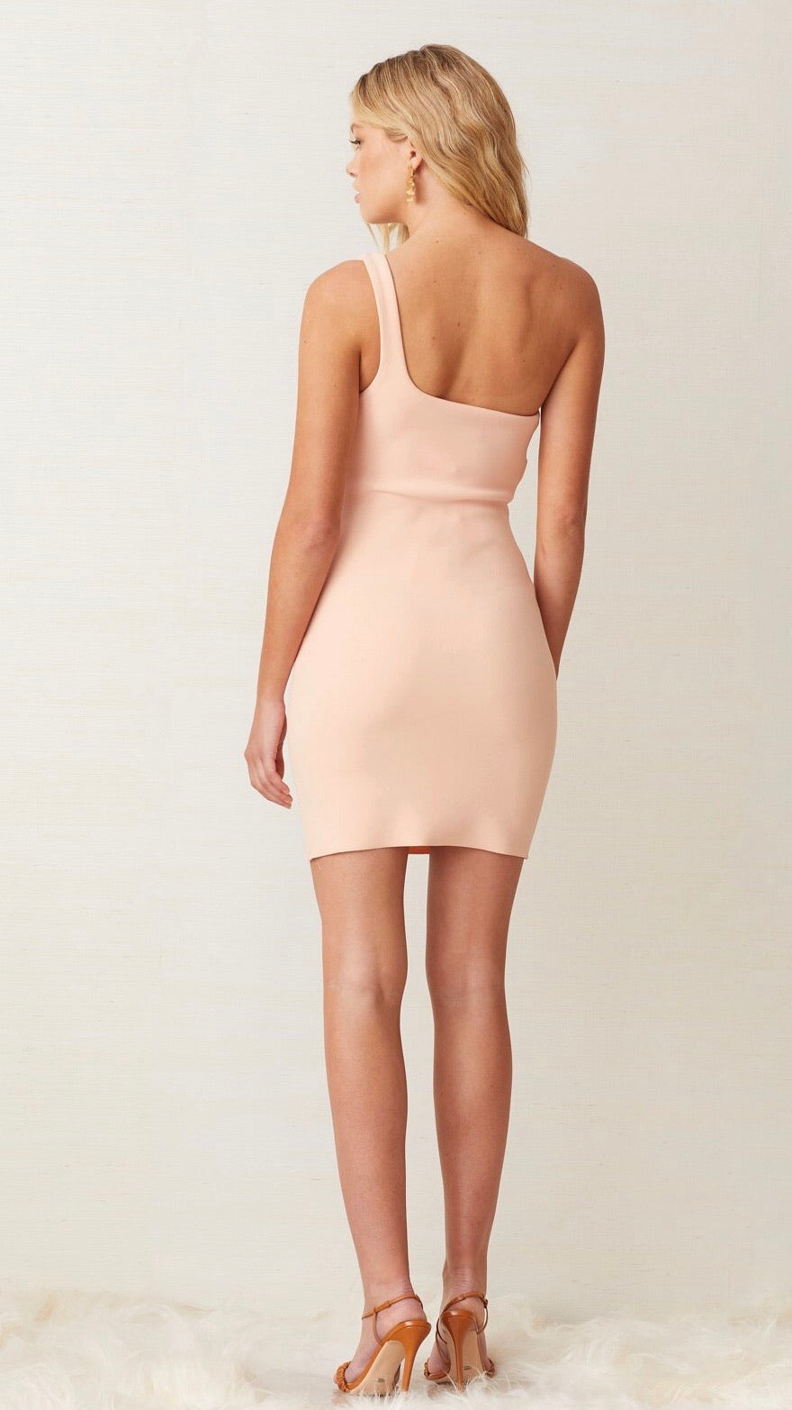 "Bec & Bridge Ruby Mini Dress in ""Peach"""