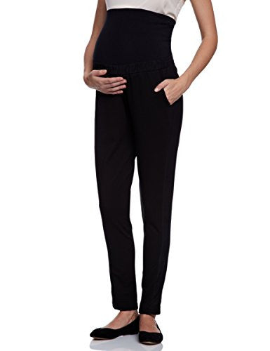 Charlin Maternity Black Smart Trousers, Office/Workwear & Casual