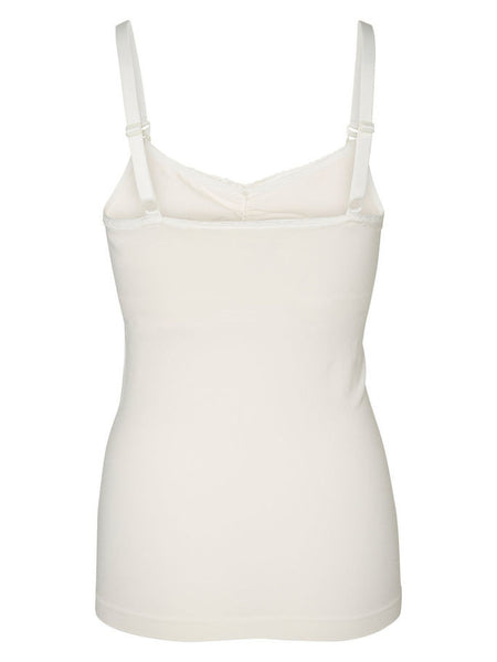 Milly, Maternity & Breastfeeding Nursing Vest Top With Built In Bra