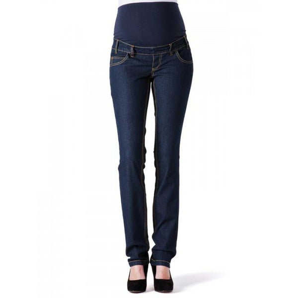 Malene, Maternity SLIM Pregnancy Jeans With Bump Band