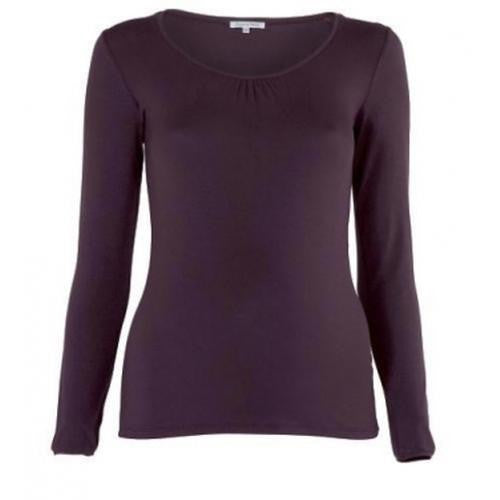 Purple Long Sleeve Maternity Top WAS £18.50