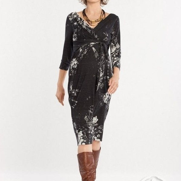 holly long sleeve 9 fashion maternity dress