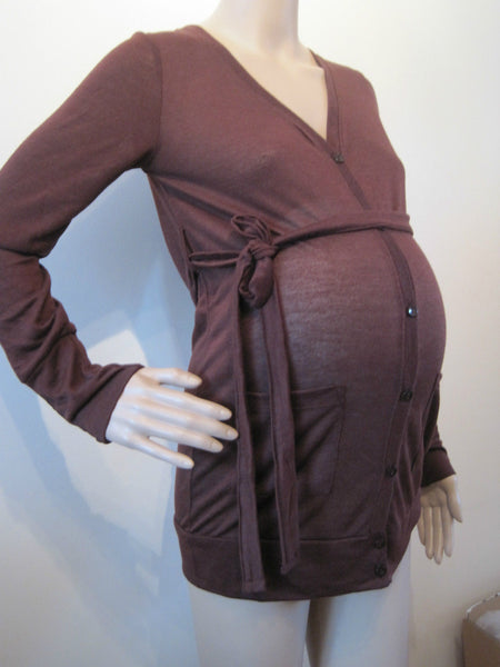 Tanika, Maternity Knitted Long Sleeve Cardigan
