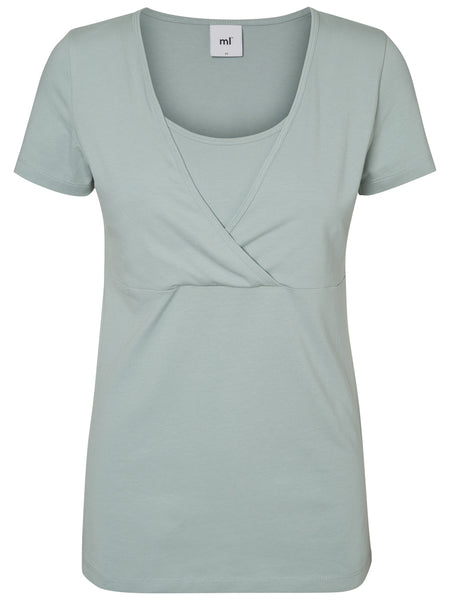 flattering purely breast feeding only not maternity top