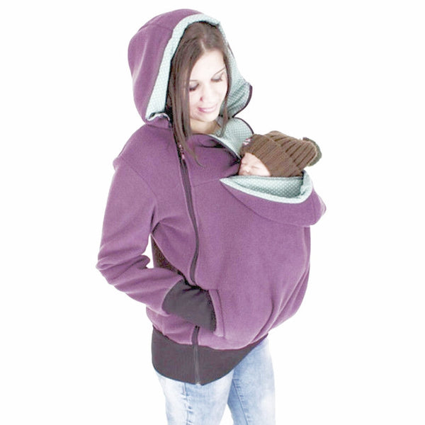 3 in 1 Maternity & Baby Carrier Kangaroo Jacket/Hoodie/Fleece