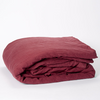 OFFER / 100% linen in old red (various items) / 20% OFF