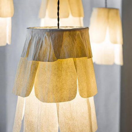 """Pétale"" paper suspension light (individual)"