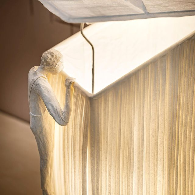 "Sculptural light ""Lucarne"""