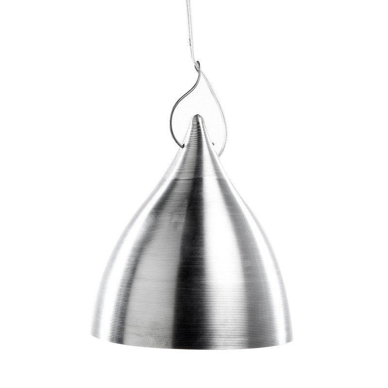 Cornet suspension light in aluminium (2 sizes)Tse Tse- Cachette