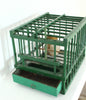 Vintage provencal hunter's bird cage