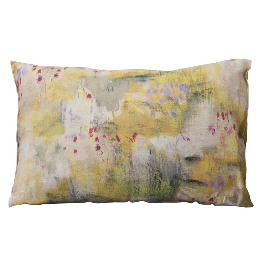 Jaune linen pillow case 70x50cm