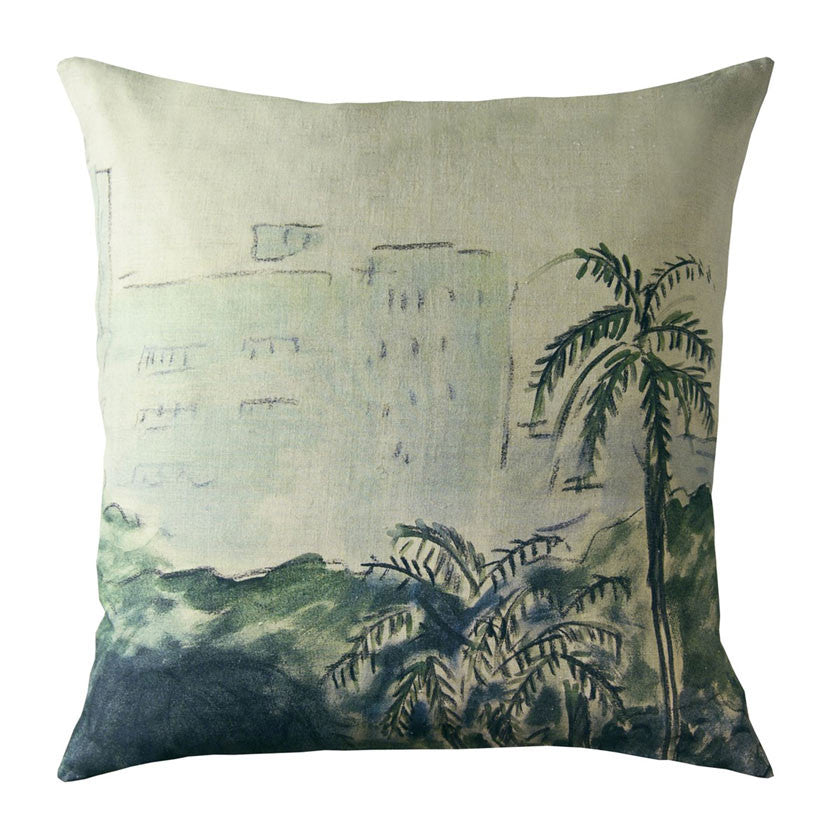 Palermo linen cushion cover square (2 sizes inner available tMaison Lévy- Cachette