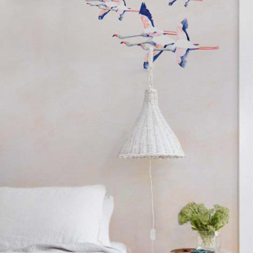 "Panoramic wall mural ""Flamingo Rose"" (price per panel)Maison Lévy- Cachette"