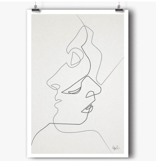 Close art print (various sizes)Balibart- Cachette