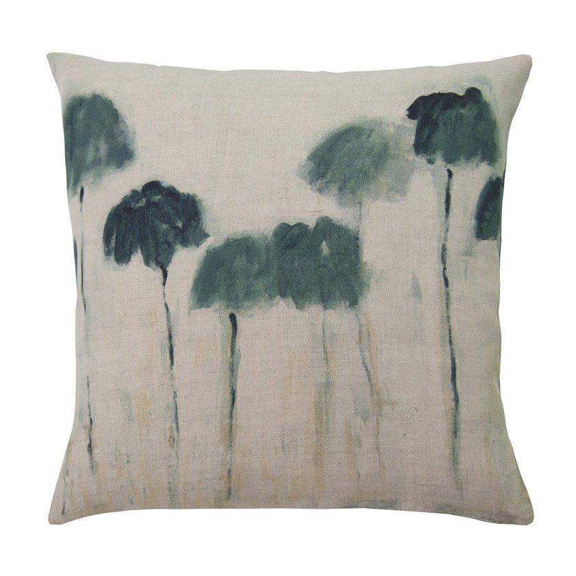 Reflejos linen cushion cover square (2 sizes inner available tMaison Lévy- Cachette