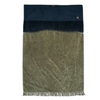 Fringed bath towel orage-charbon (two sizes)bed and philosophy- Cachette