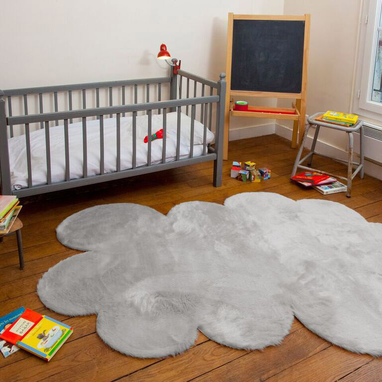 Soft cloud rug in grey (2 sizes available)pilepoil- Cachette