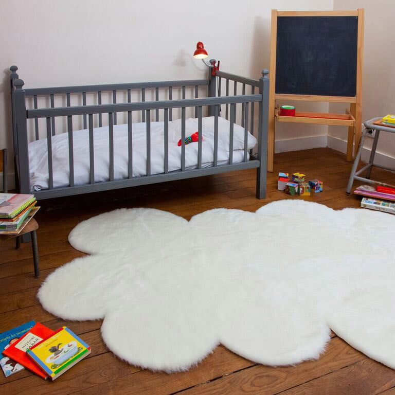 Soft cloud rug in white (2 sizes available)pilepoil- Cachette