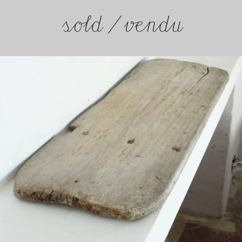 Vintage wooden wash board (SOLD)Vintage- Cachette
