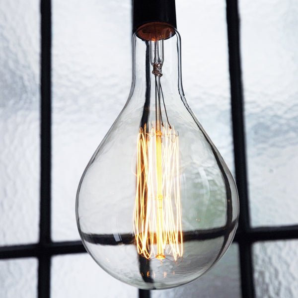 Extra large drop shaped bulb 30cm