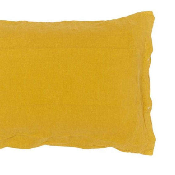 100% linen pillow case with buttons (2 sizes, 22 colours)