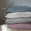 100% linen fitted sheet eco-friendly dyes (new)