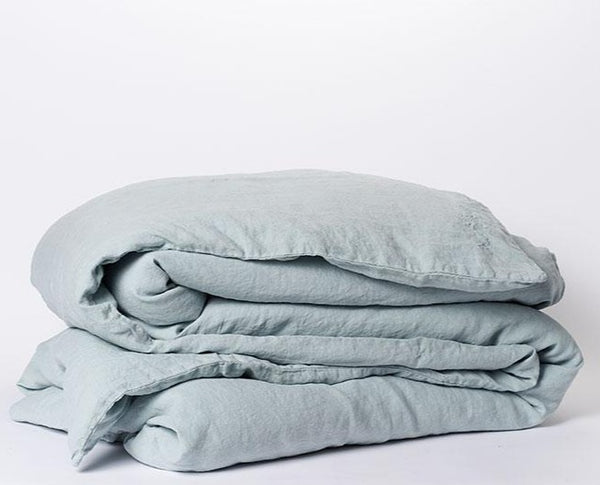 100% linen double duvet cover (14 colours)