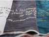 Linen tea towel (choice of 10 colours)