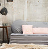 Linen futon for wooden pallet (10 colours)bed and philosophy- Cachette